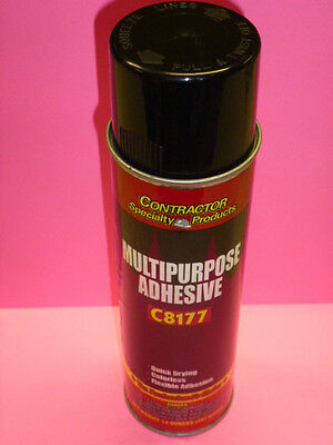 CONRACTOR SPECIALTY PRODUCTS MULTI-PURPOSE SPRAY ADHESIVE #C8177, 14-oz.