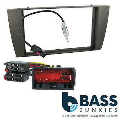 DFP-14-01 Jaguar S-Type 2002>Car Stereo Double Din Fascia Panel ISO & Aerial Kit