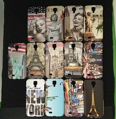 10pcs/Lot Mixed Stylish Hard Cover Case for Samsung Galaxy S4 SIV