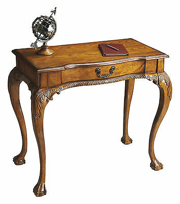 Chippendale Style Writing Desk - Console Table - Vintage Oak - Free Shipping*