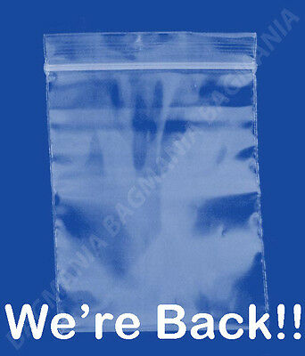"100 2mil Ziplock 4"" x 4"" SEALABLE Plastic Small Bags Jewelry Bags - Beads Bags"