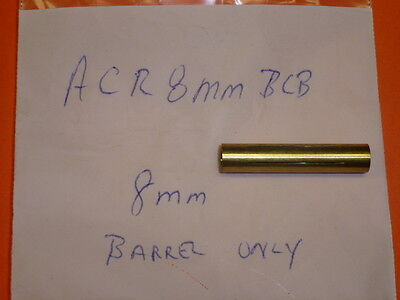 NEW! ACRO TOOL Acro Lap 8mm THROUGH HOLE BARREL, 8mmBCB