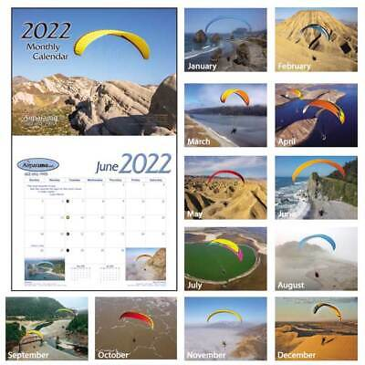 2019 Wall Calendar Paramotor, Powered Paraglider PPG, Flight, Aviation, Pilot