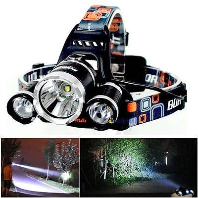 2500LM 5 Modes Adjustable Focus CREE XML T6 LED 18650 Flashlight Torch UltraFire