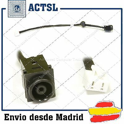 CONECTOR DC Power Port Jack Socket & Cable Wire SONY VAIO PCG-3D1M