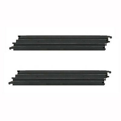"Micro Scalextric 1:64 Track Spares - G101 / L7553 - 15"" Long Straight x 2"
