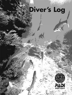PADI Adventure Log 25 Refill Log Pages, 50 dives, for Scuba Diving