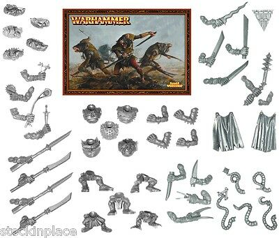 GAMES WORKSHOP Warhammer FANTASY BITZ  Skaven Bits