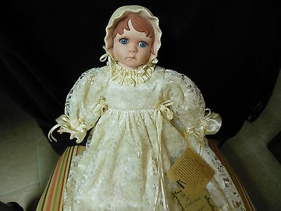 Seymour Mann signature series collection doll w/hang tags. ltd. edition- pretty