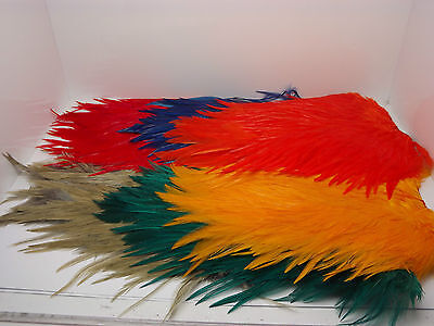 Cock Saddle Cape, Choice from 11 colours,Fly tying feathers,materials