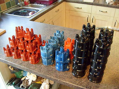 Job Lot Of 40 Mixed New Distributor Capes For All Classic Fords Models