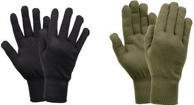 Stretch Glove Liners Made In The USA GI Style Polypropylene 8413 Rothco