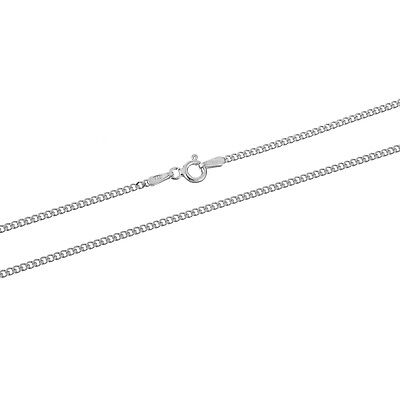 Sterling Silver 2mm Curb Chain Link - Bracelet, Anklet, or Necklace - .925 Italy