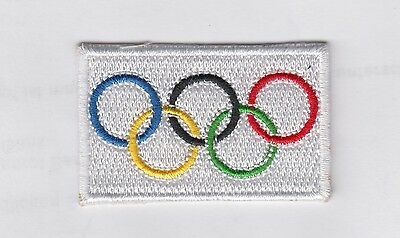 Olympia Aufbügler Aufnäher Patch ,Olympic Games