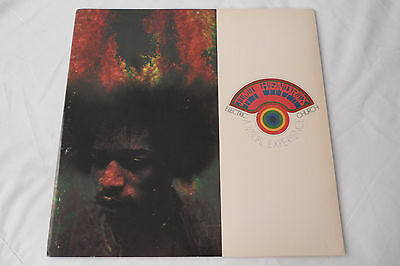 JIMI HENDRIX Original 1969 CONCERT PROGRAM -      Awesome Condition!!       NM-