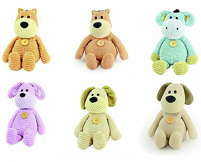 Beany Belly Microwavable Animal Toys: Lavender Scent Knitted or Corduroy Fabric