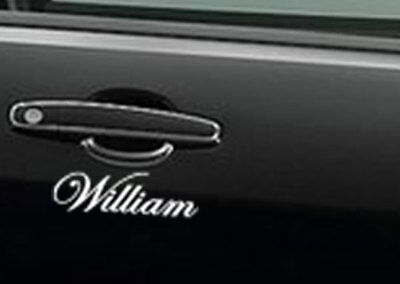 Custom name Car Sticker Shop Decal Outdoor Window Commercial Grade 10~200 cm