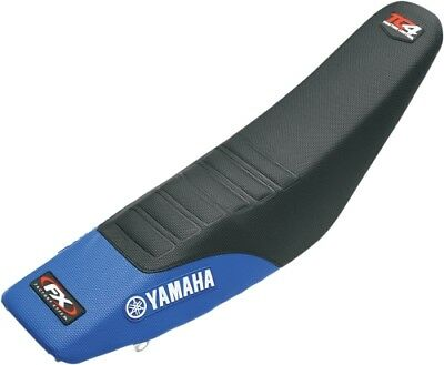 Factory Effex TC4 Gripper Seat Cover Blue/Black for Yamaha YZ250F 10-13 12-27226