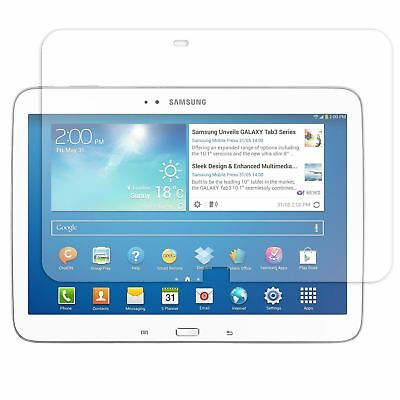 "2x QUALITY CLEAR SCREEN PROTECTOR FILM COVER FOR SAMSUNG GALAXY TAB3 10.1"" P5200"