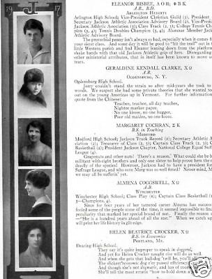 1917 Tufts College School Yearbook~Photos~History~Football~Fraternities~WWI~++++
