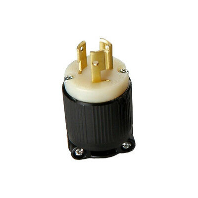 High quality UL Nema L6-15P 15A 125V/250V Rewirable DIY Plug