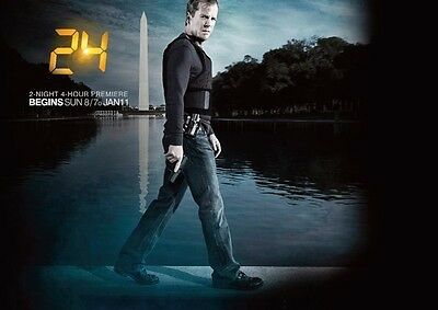 24 Jack Bauer Kiefer Sutherland Washington Monument POSTER