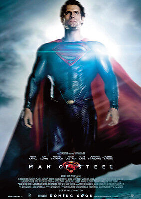 Man of Steel Superman Repro Film POSTER