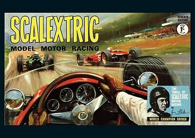 Scalextric Jim Clark Model POSTER