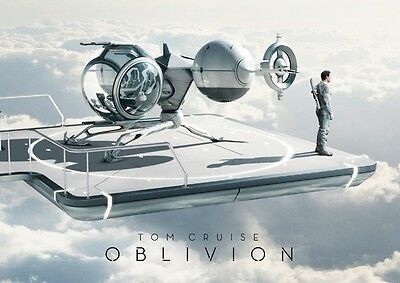 Tom Cruise Oblivion Repro Film POSTER