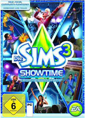 Die SIMS 3 SHOWTIME LIMITED EDITION Erweiterung CD Key EA Origin DOWNLOAD CODE