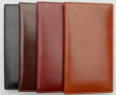 Beautiful Finely Stitched and Finished VT Leather Checkbook Covers