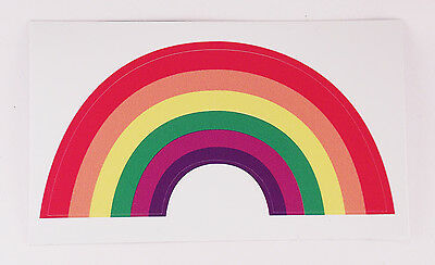 Gay Pride Rainbow Flag decal - fade-resistant all-weather sticker