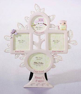 """Brand NEW"" Pink Owl themed Baby '1st Year' Photo Frame"