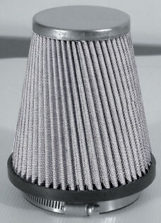 Universal Car Engine Silver Mesh Induction Kit Air Filter Sports Cone & Apators