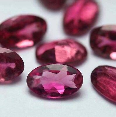 1Turmalin (VS) Pink Oval 5x3mm!!!