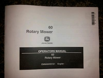 new john deere 60 rotary mower operator s manual 400 420 430 445 rh picclick com john deere 445 operators manual pdf john deere 445 owners manual