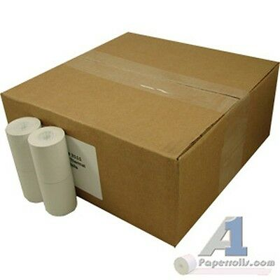 "Lot of 2 Cases of 2 1/4"" x 85' Thermal Cash Register Paper Rolls 72ct/Case"