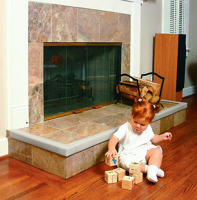 Prince Lionheart Cushiony Fireplace Guard & 2 Corners in Beige or Brown - 72027