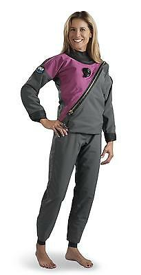 DUI 30/30 Women's Select Scuba Diving Drysuit (Size Large - Tall)