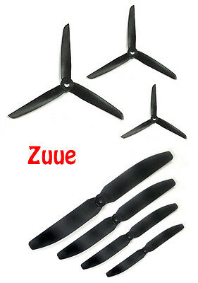 Gws Style Abs Prop Propellers Rc Plane Tri Quad Copter Multi Rotor 2 3 Blades