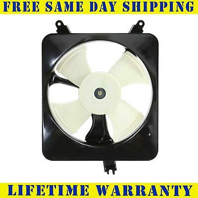 Ho3113102 Ac A/c Condenser Cooling Fan For Acura Honda Fits Cl Accord 2.2