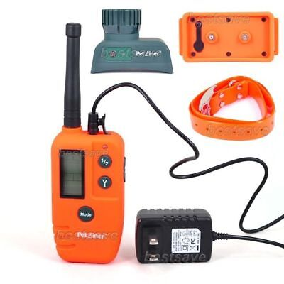 Rechargeable 9 Level 500M LCD Remote Pet Dog Hunter Beeper Trainer Collar B0216