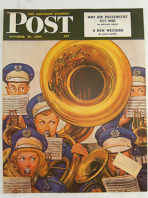Vintage – THE SATURDAY EVENING POST (Cover Only) - OCTOBER 19, 1946