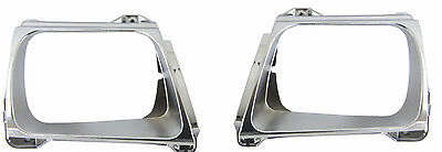 Toyota Hilux Head Light Souround/rim Chrome/silver (Pair) 11/01-2/05