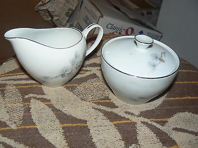Fine China of Japan cream and sugar (Pine Song) 1 available