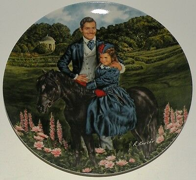 "Bonnie and Rhett"" Gone with the Wind - 1985 Knowles Plate w/ COA"