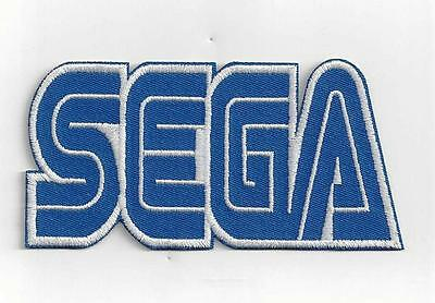 LARGER SEGA  IRON ON PATCH  buy 2 get 1 free = 3 OF THESE