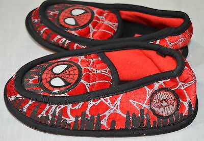 Marvel Spiderman Slippers Size L 9-10