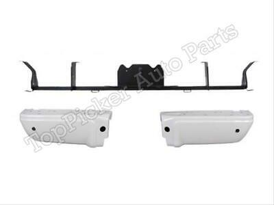 Gold Pad For 08-12 F250 Painted Oxford White YZ//M6466A Rear Bumper Ends W//Hole