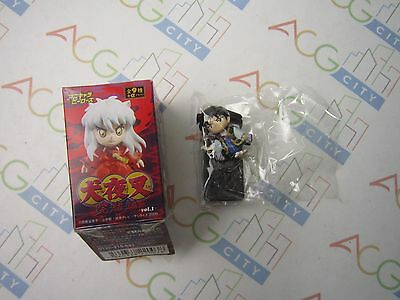 Inuyasha Final Anime Heroes Mini Big Head Vol.1 Byakuya Figure Gashapon Charazo